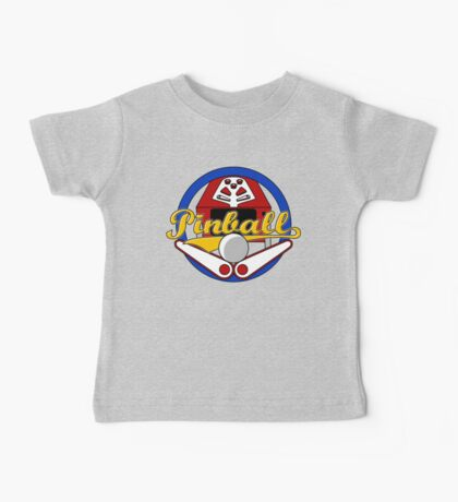 Pinball Logo Baby Tee