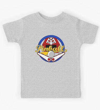Pinball Logo Kids Tee