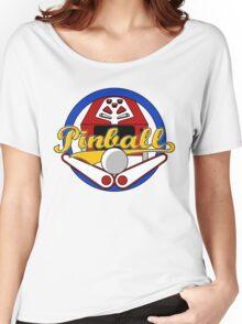 Pinball Logo Women's Relaxed Fit T-Shirt