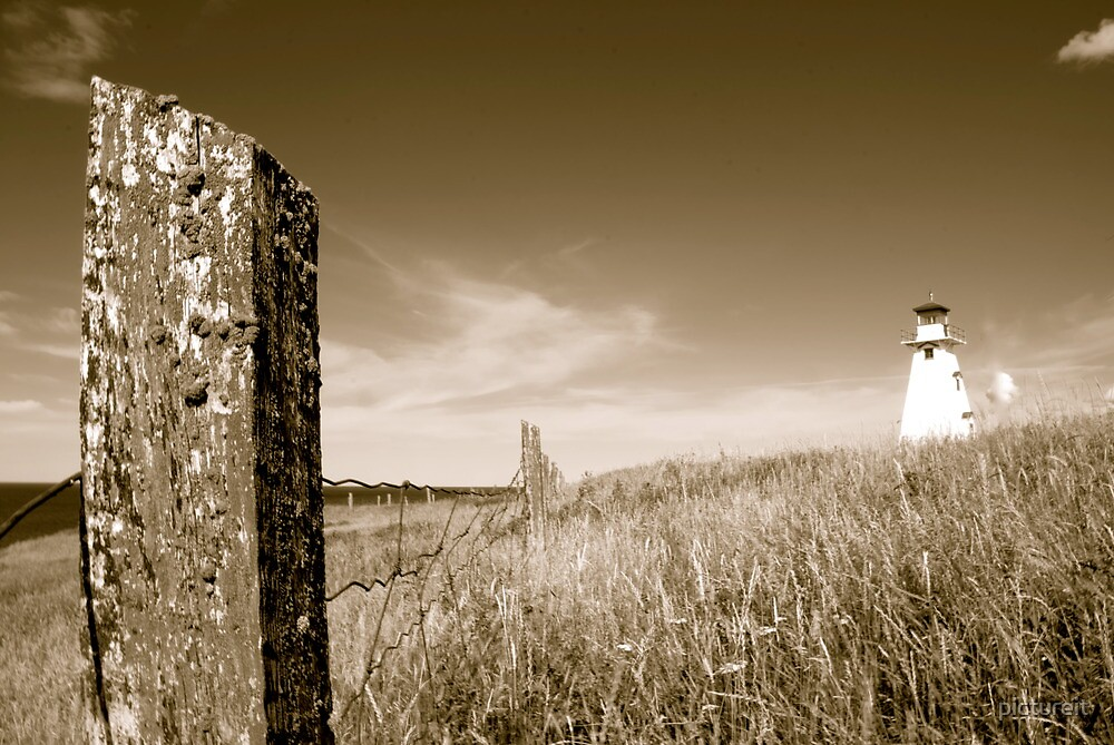 Fence Line by pictureit