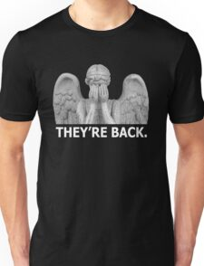 Doctor Who | Weeping Angel (White) Unisex T-Shirt