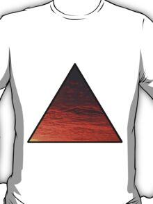Sunset Triangle  T-Shirt