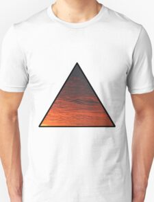 Sunset Triangle  T-Shirt