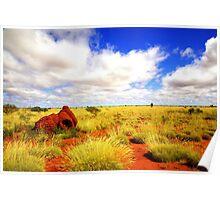 Punda Art Site, Western Australia Poster