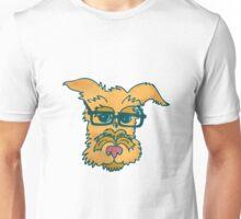 Mack The Cool Nerd Dog Unisex T-Shirt