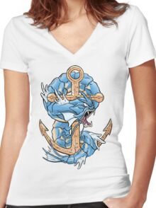 Dragon Rage Women's Fitted V-Neck T-Shirt