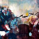 Original Abstract Painting by Hannah Mickunas