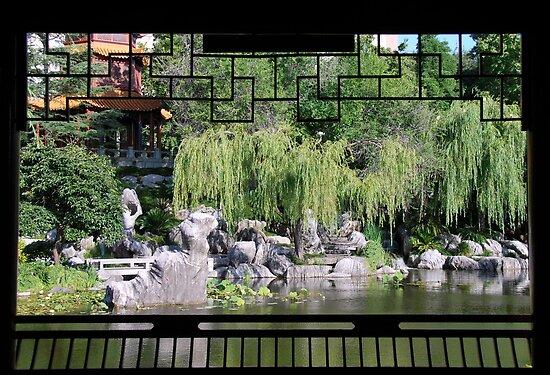 Window on the Garden by pictureit