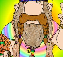 The Original Hippie Sticker