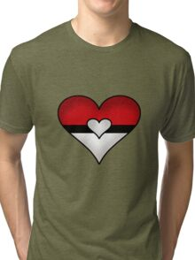 I Heart Pokemon Tri-blend T-Shirt