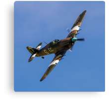 Hawker Hurricane IIc PZ865 EC-S Canvas Print