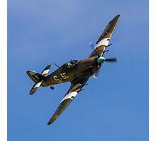 Hawker Hurricane IIc PZ865 EC-S Photographic Print