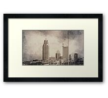 Mobile Alabama Framed Print