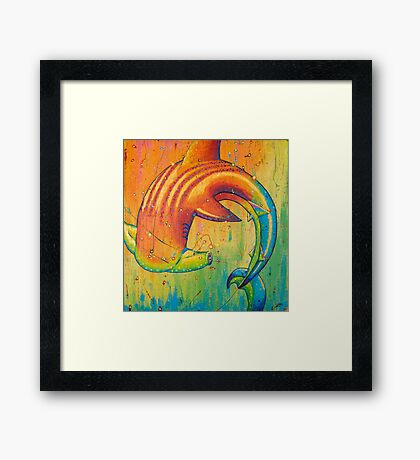The Universal Hammerhead  Framed Print