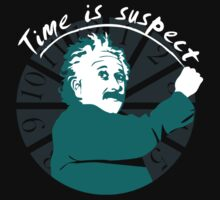 Einstein - Time Is Suspect by QueenHare
