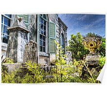 Eastern Cemetery in Nassau, The Bahamas Poster