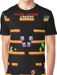 Bubble Bobble Level (vector image - not 8bit) Graphic T-Shirt