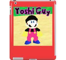 Yoshi Guy iPad Case iPad Case/Skin