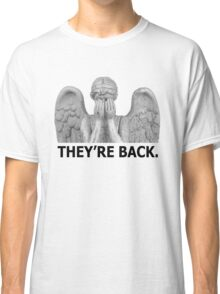 Doctor Who | Weeping Angel (Black) Classic T-Shirt
