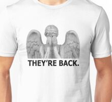Doctor Who | Weeping Angel (Black) Unisex T-Shirt