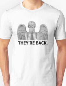 Doctor Who | Weeping Angel (Black) T-Shirt