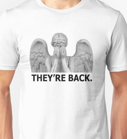 Doctor Who   Weeping Angel (Black) Unisex T-Shirt