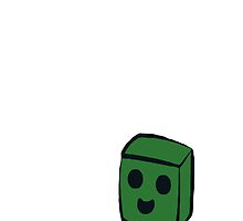 Creeps, the Friendly Creeper (White) by Warhead955