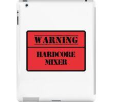 Hardcore Mixer iPad Case/Skin