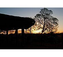 Uluru Shelter Photographic Print