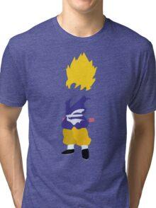 Goku SSJ Tri-blend T-Shirt