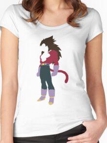 Vegeta SSJ4 Women's Fitted Scoop T-Shirt