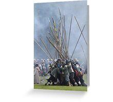 Pike Scrum - Civil War Re-enactment Greeting Card