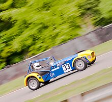 Caterham at speed by Stephen Knowles