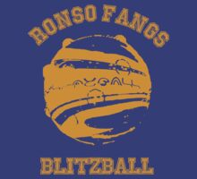 Ronso Fangs Blitzball Shirt by GeordanUK