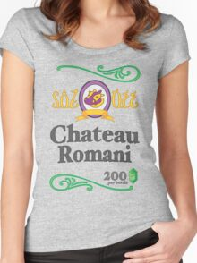 Chateau Romani (Light Shirt) Women's Fitted Scoop T-Shirt