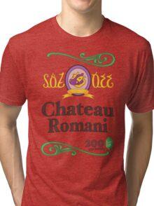 Chateau Romani (Light Shirt) Tri-blend T-Shirt