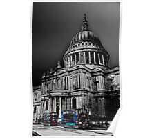 St Pauls Cathedral London Art Poster