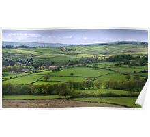Hillside View, Baildon, West Yorkshire Poster