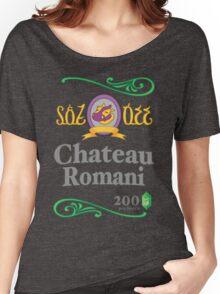 Chateau Romani (Dark Shirt) Women's Relaxed Fit T-Shirt