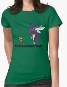 Kha'Zix Joke  Womens Fitted T-Shirt