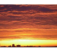 Ottawa Sunrise Photographic Print