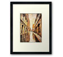 Waddington Alley Framed Print