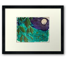 Under the Soft Moonlight Framed Print
