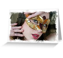 Mask Number 2 Greeting Card