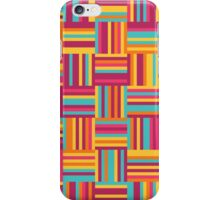 abstract geometric seamless pattern iPhone Case/Skin