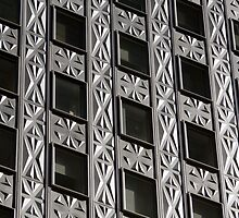 Socony Mobil Building Detail - Manhattan NYC by Martin Cameron