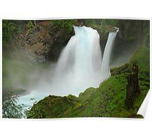 Sahalie Falls, Oregon Poster