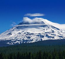 Clouds Streaming Over South Sister by DArthurBrown