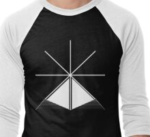 fig. 3 (Unseen Power)  Men's Baseball ¾ T-Shirt