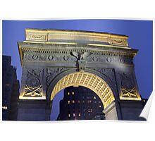 Washington Arch Poster